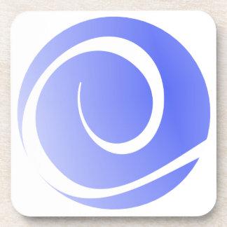 Logo de TCS - ensemble de dessous de verre