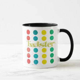 Logo de tornade dans le tapis de jeu mugs