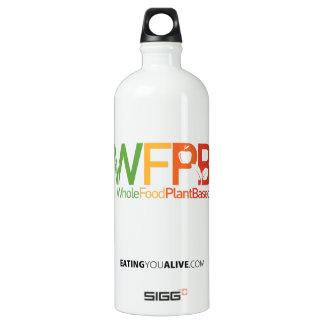Logo de WFPB - bouteille d'eau (1.0L), blanche