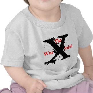 """""""Logo de """"X"""" de la peinture"""" de guerre T-shirt"""