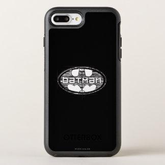 Logo d'ébauche de Batman | Coque OtterBox Symmetry iPhone 8 Plus/7 Plus