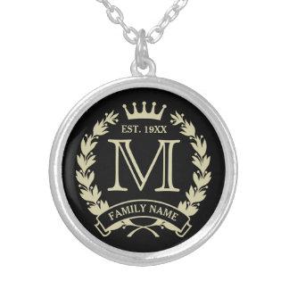 Logo décoré d un monogramme initial fait sur bijouterie personnalisée