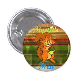 Logo d'écureuil du désordre de Myrtil Pin's