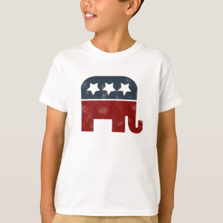 Logo d'éléphant de GOP T-shirt