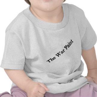 """Logo des textes de noir de la peinture de guerre"" T-shirt"