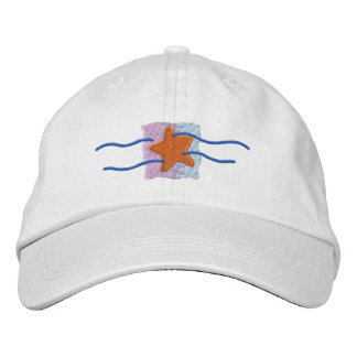 Logo d'étoiles de mer casquettes brodées