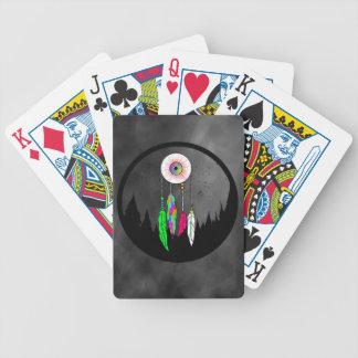 Logo d'habillement d'asile cartes à jouer