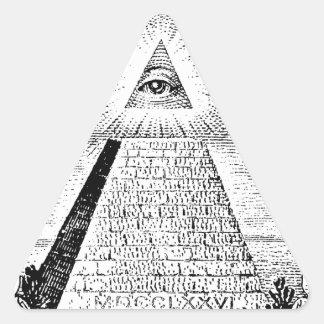 illuminati autocollants stickers illuminati