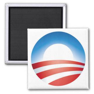 Logo d'Obama Magnet Carré