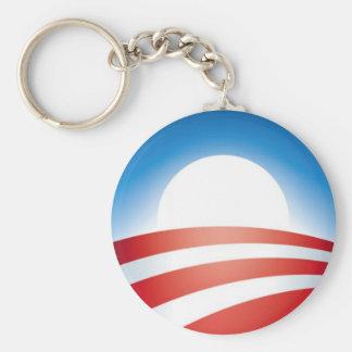Logo d'Obama Porte-clé Rond