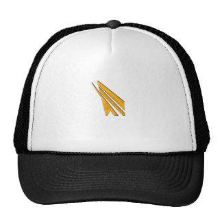 logo d'or casquettes de camionneur