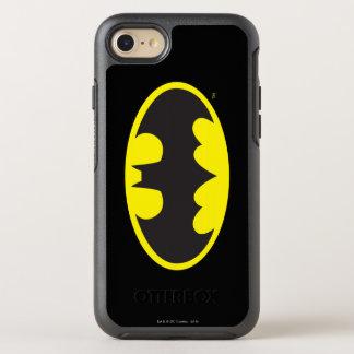 Logo d'ovale de batte du symbole | de Batman Coque Otterbox Symmetry Pour iPhone 7
