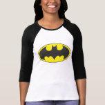 Logo d'ovale de batte du symbole   de Batman T-shirt