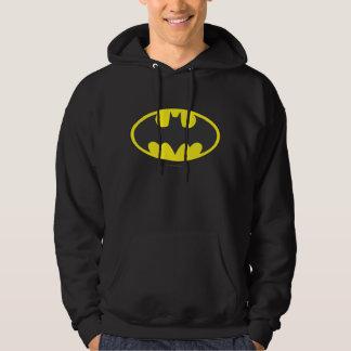 Logo d'ovale de batte du symbole | de Batman Veste À Capuche