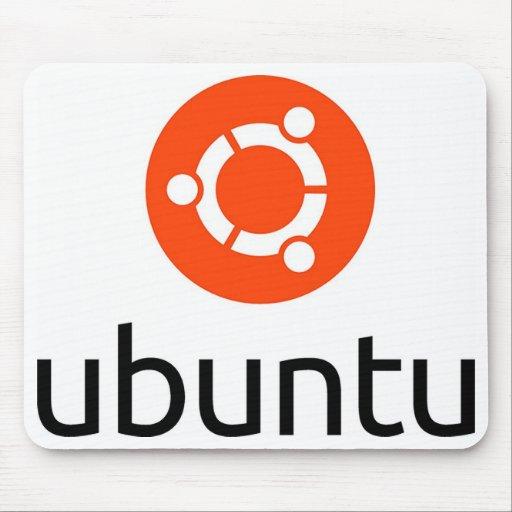 Logo d'Ubuntu Linux Tapis De Souris