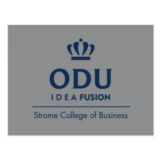 Logo empilé par ODU - bleu Carte Postale