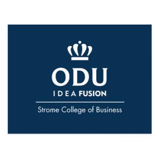 Logo empilé par ODU Carte Postale