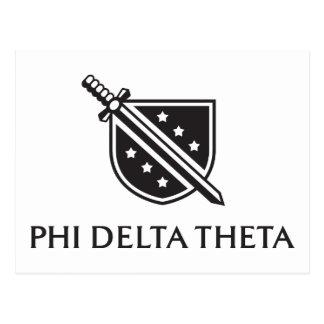 Logo empilé par PDT - noir Cartes Postales
