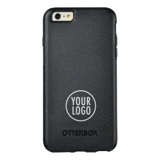 Logo fait sur commande marqué symétrie noire coque OtterBox iPhone 6 et 6s plus