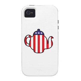Logo fort de thé coque iPhone 4 de Case-Mate
