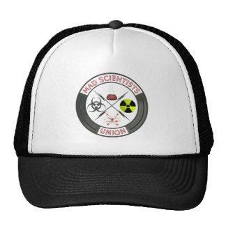 Logo fou des syndicats de scientifique casquettes