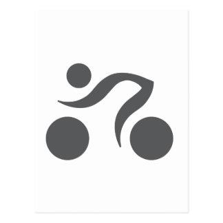 Logo frais de recyclage carte postale