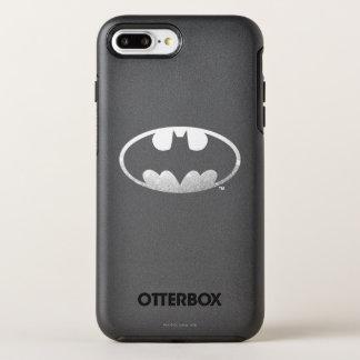 Logo grenu du symbole | de Batman Coque OtterBox Symmetry iPhone 8 Plus/7 Plus