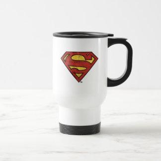Logo grunge du S-Bouclier | de Superman Mug De Voyage