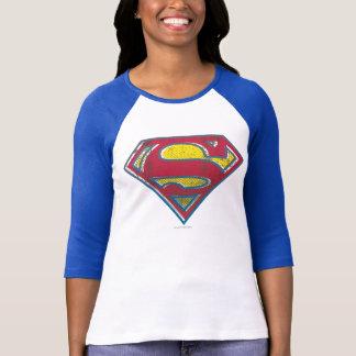 Logo imprimé par   de S-Bouclier de Superman T-shirt
