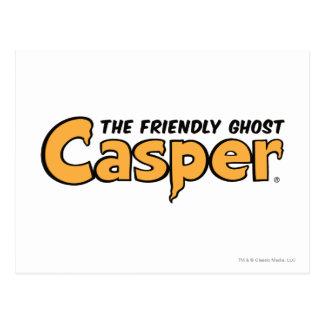 Logo jaune de Casper Carte Postale