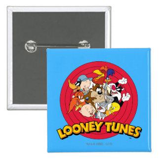 Logo LOONEY de caractère de TUNES™ Badges