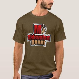 Logo malveillant de beignet t-shirt
