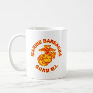 Logo marin de la Guam de caserne Mug