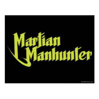 Logo martien de Manhunter Carte Postale