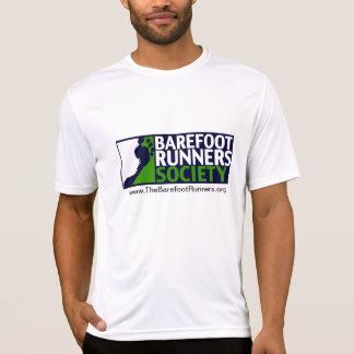 Logo micro de T des hommes+URL et URL arrière T-shirt