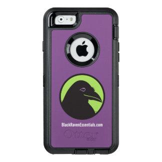 Logo noir de bases de Raven - cas de l'iPhone® Coque OtterBox iPhone 6/6s