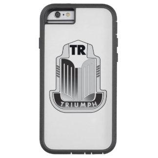 Logo noir de Triumph Coque iPhone 6 Tough Xtreme