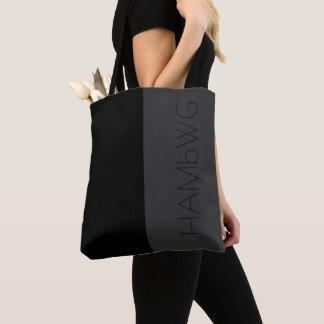 Logo noir et gris de sac de HAMbWG - de