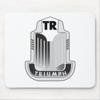 Logo noir Mousepad de Triumph Tapis De Souris
