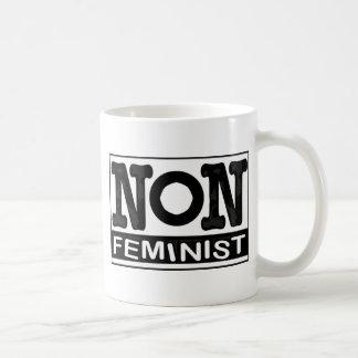 Logo non-Féministe classique Mug