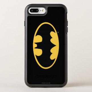 Logo ovale 3 du symbole | de Batman Coque OtterBox Symmetry iPhone 8 Plus/7 Plus