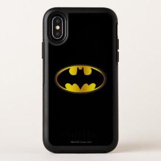 Logo ovale de gradient du symbole | de Batman