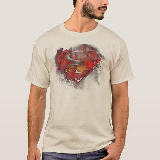 Logo peint par   de S-Bouclier de Superman T-shirt