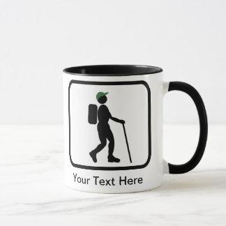 Logo personnalisable de randonneur mug