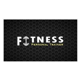 Cartes de visites pour les instructeurs de fitness à personnaliser.