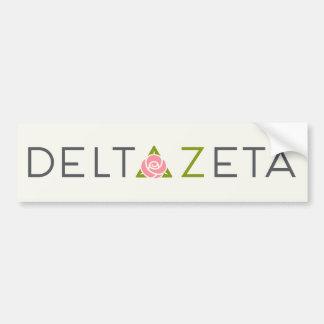Logo primaire de Zeta de delta Autocollant De Voiture
