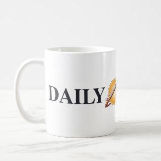 Logo quotidien de planète mug