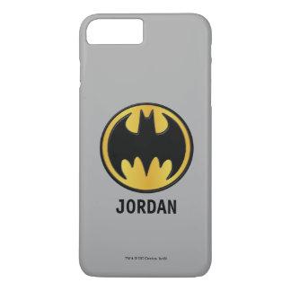 Logo rond classique du symbole | de Batman Coque iPhone 8 Plus/7 Plus