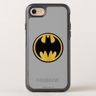 Logo rond classique du symbole | de Batman Coque OtterBox Symmetry iPhone 8/7