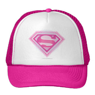 Logo rose de Supergirl Casquettes De Camionneur